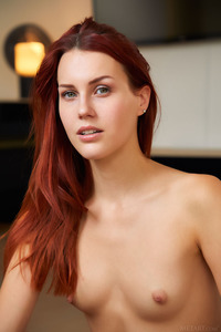 Charlie Red Czech Stunner Gets Naked
