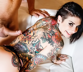 Joanna Angel Gets All Orgasms Before Covers In Jizz