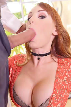 Glamour Redhead's Cream Fart picture gallery