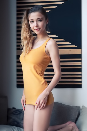 Mila Azul from Ukraine